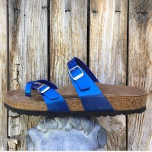 NWT Birkenstock Mayari Sandal Electric Ocean 40